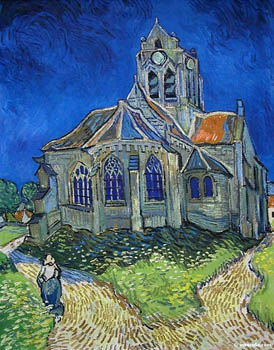 auvers sur oise church van gogh